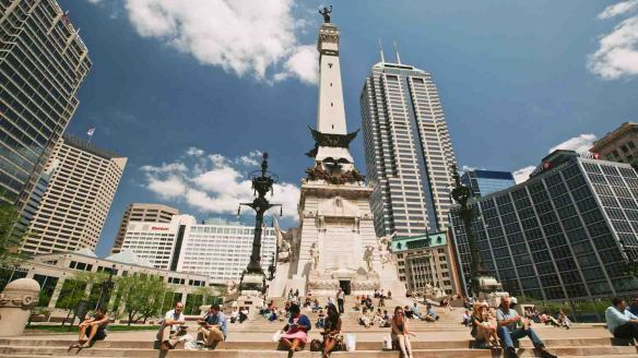 Soldiers & Sailors Monument Photo courtesy: Visit Indy
