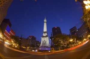 Comings and goings on The Circle.  Photo Credit: Conrad Piccirillo.