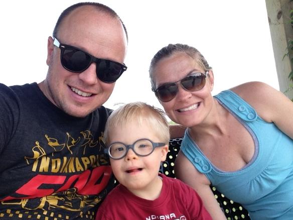 Matt, Leo, Laura Mays, Summer 2014