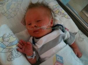 Leo Mays, one week old